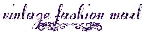 Vintage fashion logo