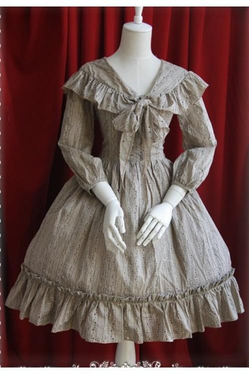 Infanta Anns Town Lolita Op Dress One Piece Lace