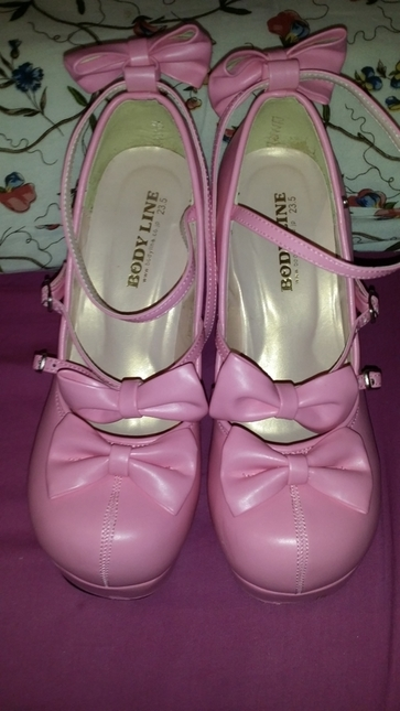 79c0e50f721 Bodyline Dark Pink Doll Shoes