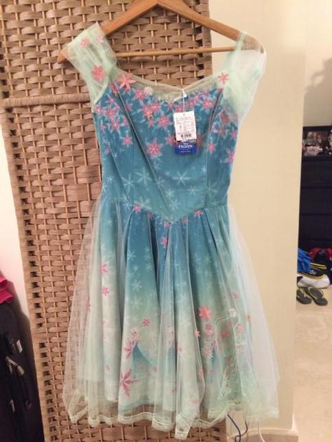 Secret Honey Disney Frozen Fever Elsa Dress Op One Piece