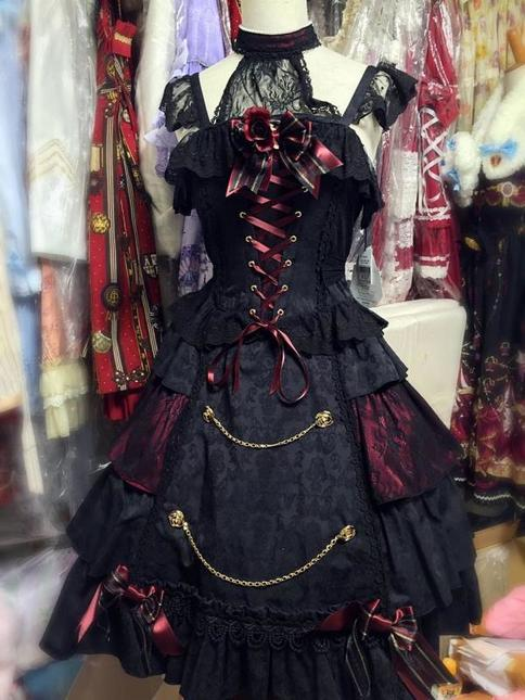 Alice And The Pirates Sweet Devil Black X Red Special Set