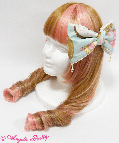 Mint headbow stockphoto