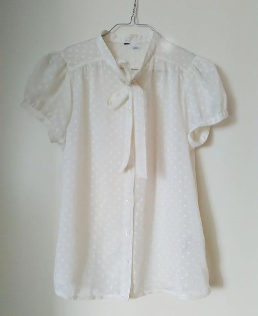 Hm blouse white 01