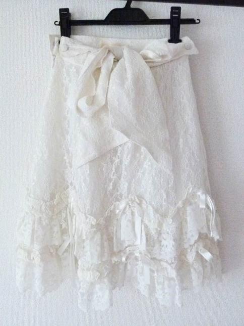 Metamorphose lace skirt 2