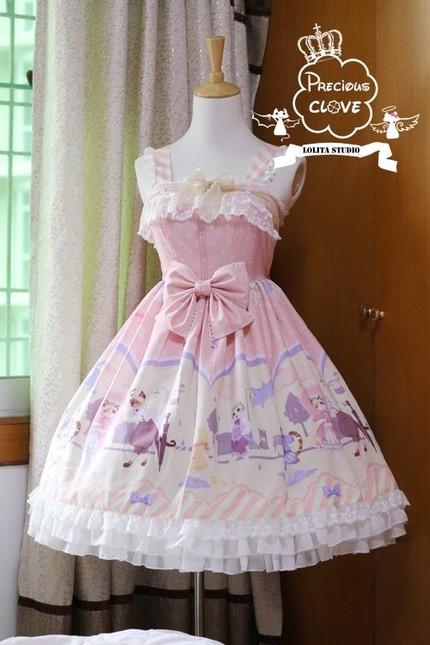 Precious clove singing in the rain lolita jumper dress prc 11 4