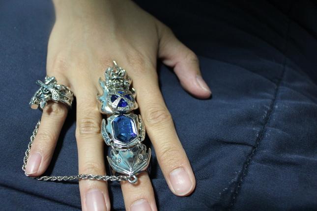 Katekyo Hitman Reborn Oath Flame Ring Jewelry Anime Market