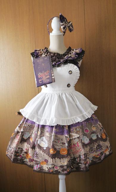 Tricky nightmare factory jumper skirt full set01