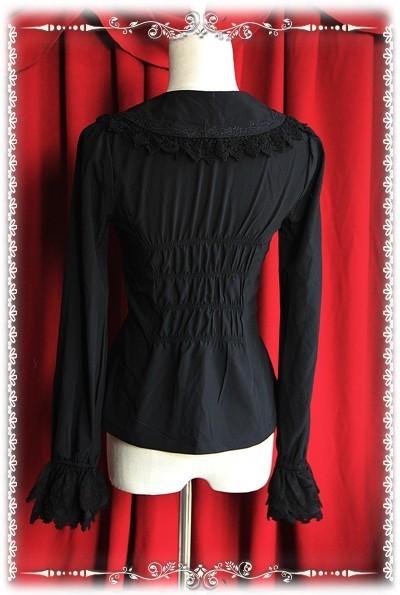 Infanta elastic chiffon lolita blouse 3 colors inf 158 11