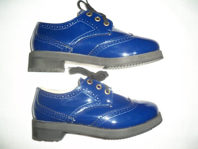 Blue 20brogues 205