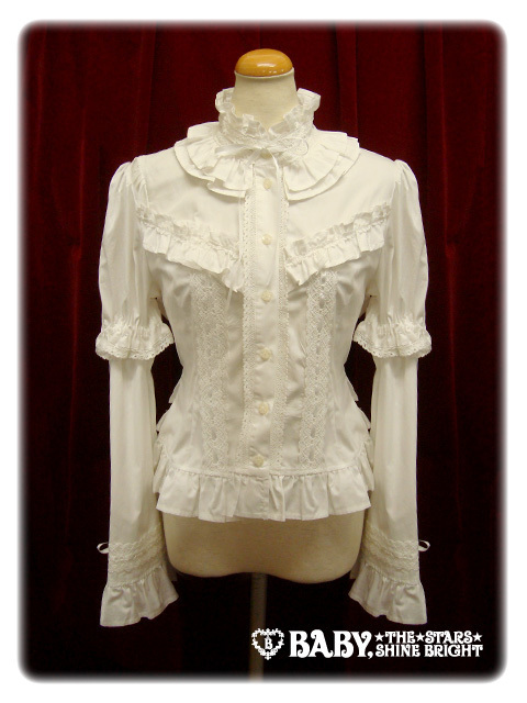 Btssb 20frilly 20blouse 20in 20off white