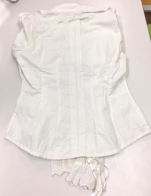 Btssb 20back 20pin 20tuck 20blouse 20in 20white 20proof