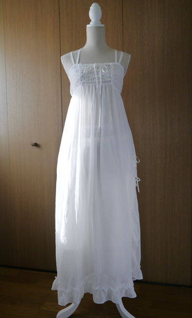 Long noble negligee01