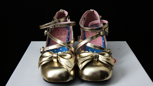 Gold shoes 003