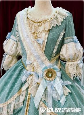 La robe vert clair