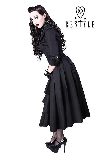 Eng pl r 22 coat dress pin up 50 black elegant retro style  1335 4