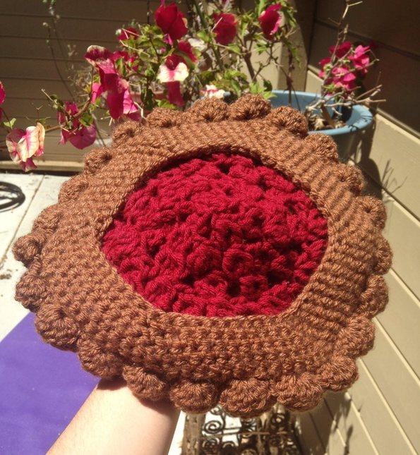 9db457a23b6d FREE US SHIP - Crochet Cherry Pie Beret. Il 570xn.583850460 ck25. Il  570xn.583850454 fsdb. Img 2536. Img 2538