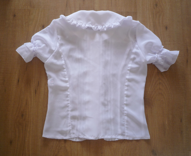Ls blouse back