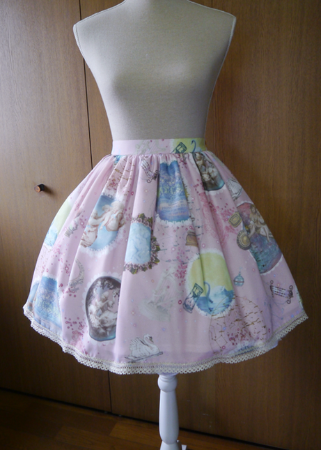 Celestial harmonia  angelic melody upon the stars  skirt01