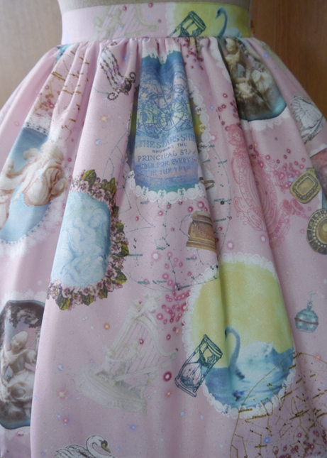 Celestial harmonia  angelic melody upon the stars  skirt03
