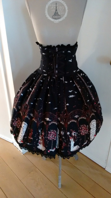 Aatp 20black 20cat  20witch 20and 20the 20apple 20tree 20corset 20skirt 2001