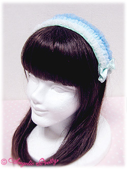 Gradation 20ruffle 20headband 20  20sax 20x 20mint