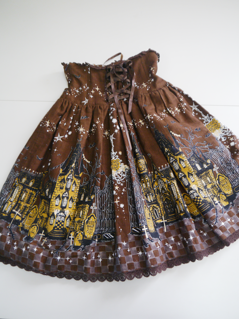 Merry making in the ghost town skirt03