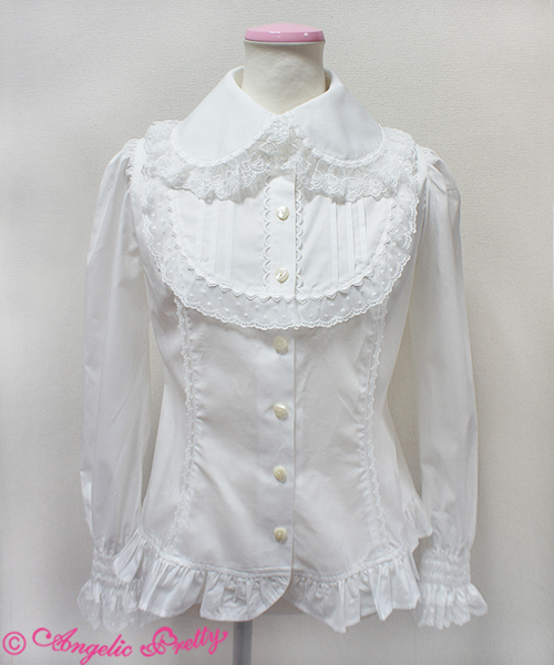 Free Us Shipping Angelic Pretty White Blouse Blouses Lace Market