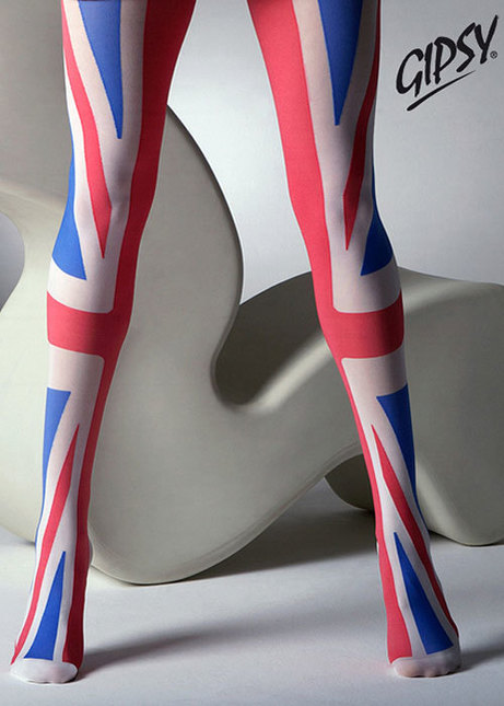 Gi union jack tights