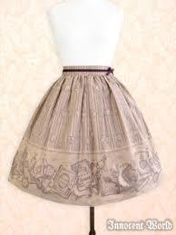 Iw 20antique 20book 20skirt