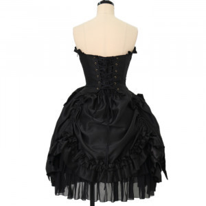 seriously borked atpie corset dress  strapless/other