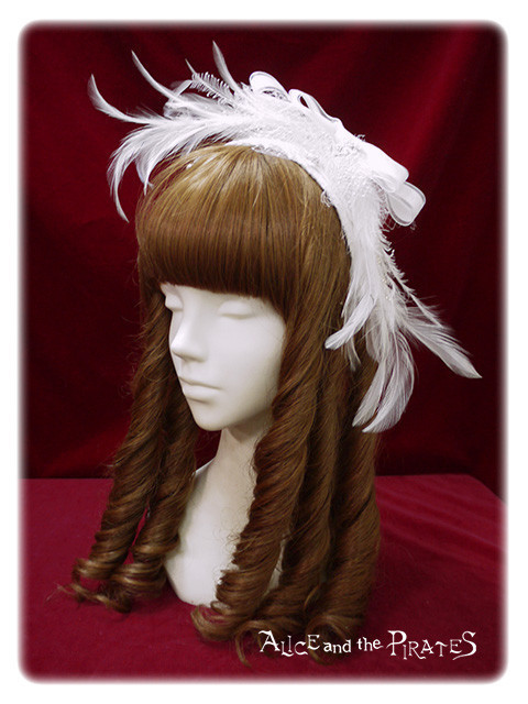 Feather 20lace 20headbow
