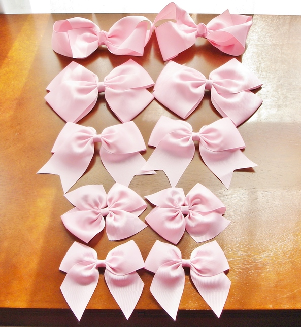 Ribbon 20bows 20baby 20pink