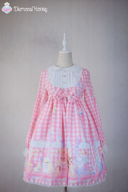 Diamond honey sweet toy paradise lolita op dress dh 8 14