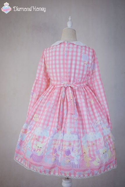 Diamond honey sweet toy paradise lolita op dress dh 8 16