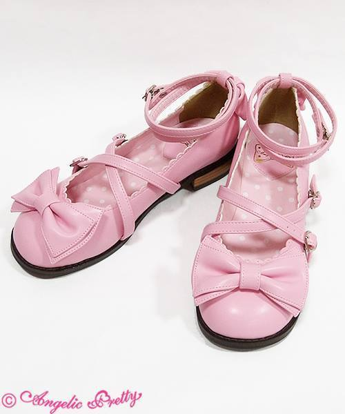 66d871594c80 Angelic Pretty Tea Party Shoes in Pink - Size L (damaged) - Shoes ...