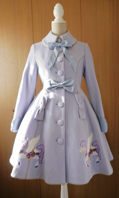 Crystal dream carnival coat lv01