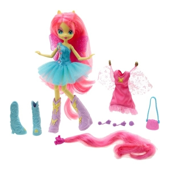 Toys and games figurines my little pony equestria girls with accessories fluttershy