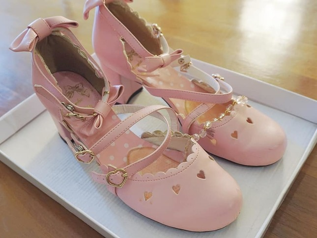 Ap 20  20princess 20ribbon 20shoes 20in 20pink 20(3)