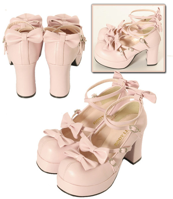 Shoes156 245 pink