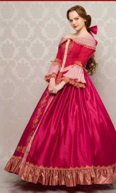 Secret Honey Something There Belle Pink Ball Gown