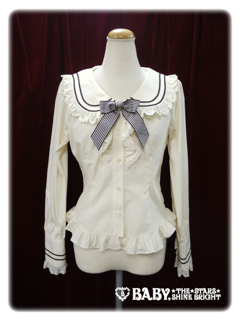 Stripe 20ribbon 20sailor 20collar 20blouse 20by 20baby  20the 20stars 20shine 20bright