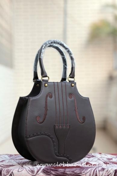 Iw style violin embroidery handbag iii   5