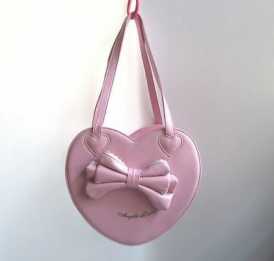 Angelic pretty sweet lolita pink heart handbag bag