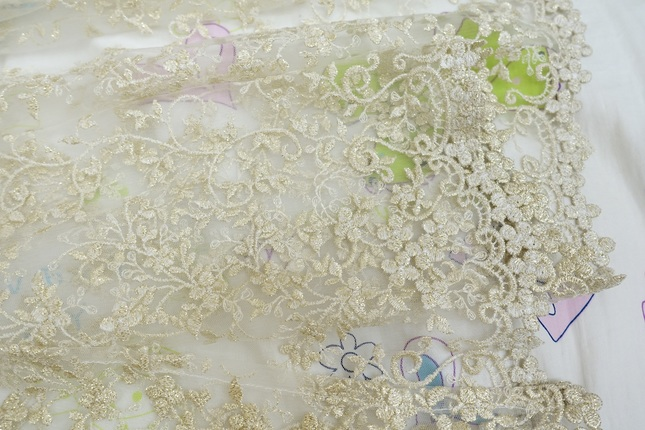 Baroque veil ivory 02