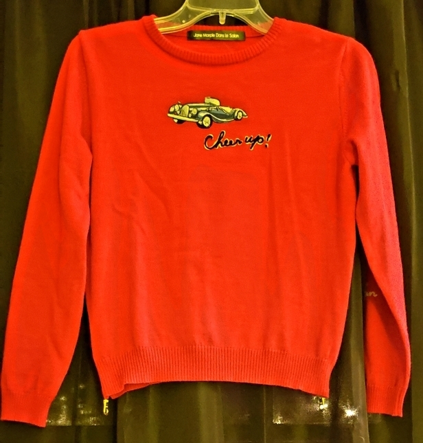 Jane 20marple 20cheer 20up 20car 20sweater 20in 20red 20proof 2001