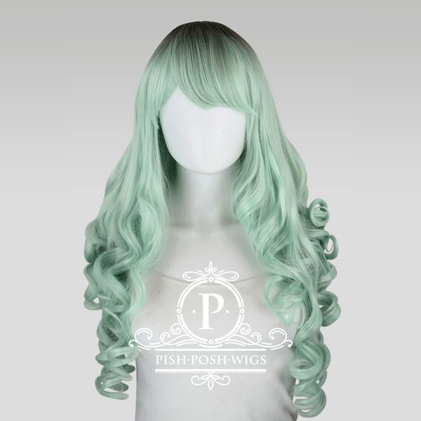 Pl0mt elizabeth mint green curly pish posh wig 1 600x