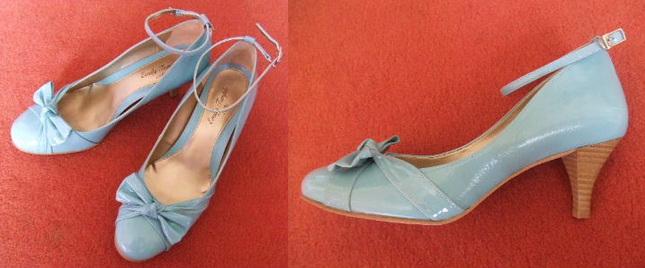 Etc patent sax strap shoes