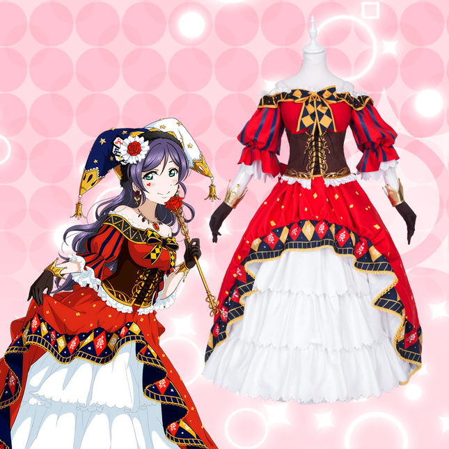 Uwowo nozomi toujou nozomi tojo cosplay lovelive love live school idol project awakening idolized magician costume