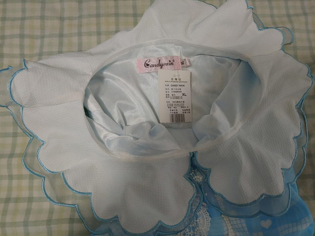 Candy rain blue sleeveless dress tag