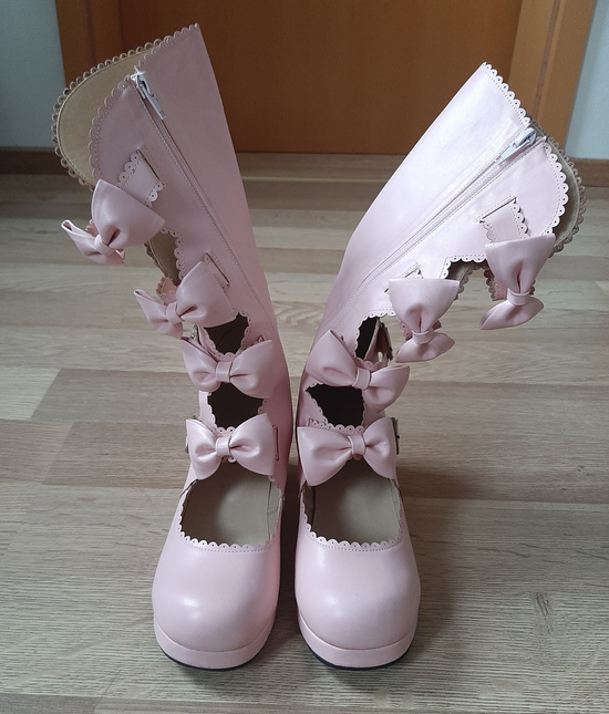 Bl shoes pink front